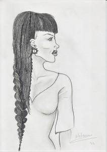 Ilustración de Kyruna por Melanie Arias