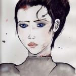 Ilustración de Jarethiene por Melanie Arias