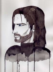 Ilustración de Rudger Wolfir por Melanie Arias
