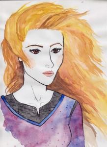Ilustración de Suryll por Melanie Arias